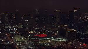 Toyota Center Floor Plan by Houston Skyline Nighttime A Stunning View Of Houston U0027s