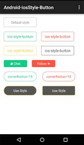android button style github crosswall android iosstyle button