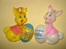 Vintage Plastic Easter Decorations by 1527 Best Vintage Easter Images On Pinterest Vintage Easter