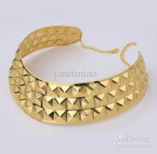 gold plated choker necklace images 2018 2012 womens gold plated choker necklace metal collar neckline jpg