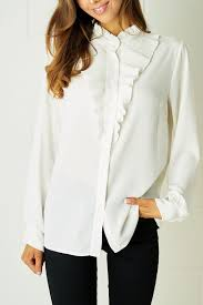 ruffle blouse frontrow ruffle blouse white from essex by frontrow shoptiques
