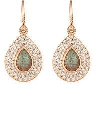 diamond teardrop earrings irene neuwirth diamond collection gemstone teardrop earrings