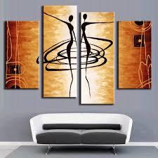 modern canvas art 2017 hand painted modern abstract apple tree