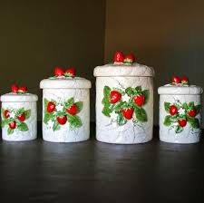 vintage ceramic kitchen canisters 314 best cool kitchen canisters images on kitchen
