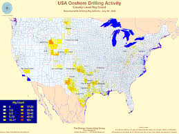River Map Of Usa by United States Oil And Gas Drilling Activity
