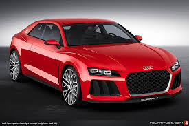 cars audi 2014 audi sport quattro concept gets paint laserlight tech
