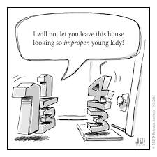this funny math cartoon from off the number line questions why we