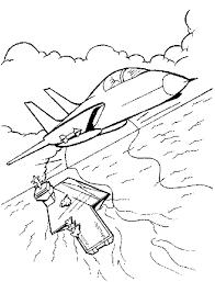 coloriage ã dessiner avion simple