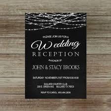 reception only invitation wording sles wedding reception invitation only amulette jewelry