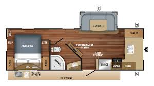 2018 jayco white hawk 25fk model floor plan