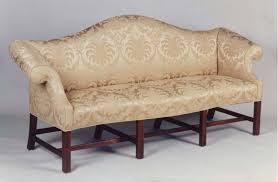 Chippendale Loveseat Newport Camel Back Sofa