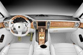 porsche panamera turbo 2017 interior porsche stingray gtr with crocodile and gold interior topcar