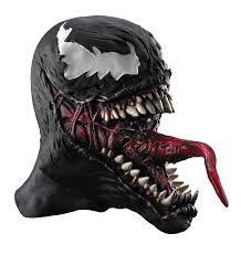 halloween voice changer party city venom vinyl full mask masks pinterest venom and masking