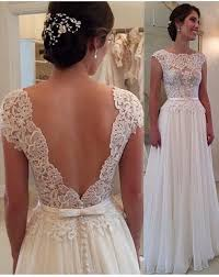 open back wedding dresses chiffon lace open back wedding dress sleeveless