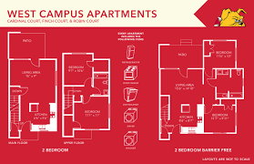 apartments floor plans ferris state university