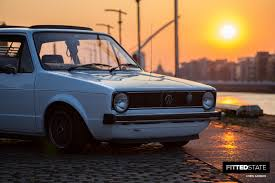 volkswagen golf mk1 modified michal maślanka u0027s mk1 golf fitted state