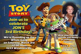 toy story gang birthday invitations