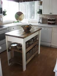 kitchen island small kitchen island table with butcher block