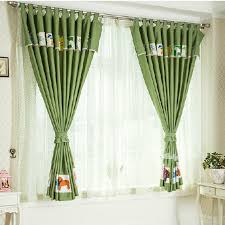 Green Curtains For Nursery Affordable Green Thermal Nursery Curtains