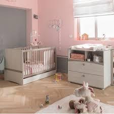 chambre bébé casablanca chambre duo lit 60x120 commode leonie vente en ligne de