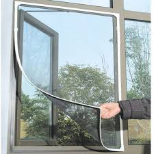 Curtains For Drafty Windows Diy Insect Fly Bug Mosquito Net On The Door Window Net Netting