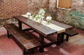 dining tables rustic table setting ideas burlap wedding