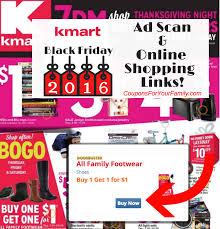 thanksgiving day shopping list kmart black friday ad 2016 released see full ad online shopping