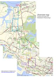 R Train Map Rail Corridor Map The Green Corridor Singapore Show Your