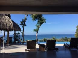 4 bedroom villa with ocean view and infinity pool property for