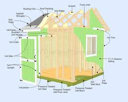 How To Build A Large Shed From Scratch by Building A Storage Shed Free Plans Storage Decorations