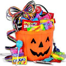 candy o lantern halloween gift basket veille de la toussaint et