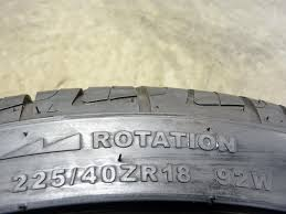 lexus is250 awd tire rotation used primewell valera sport as 225 40zr18 92w 4 tires for sale