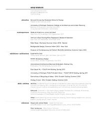 Resume For Architecture Job 100 Architectural Resumes 33 Best Portfolio U0026 Cv