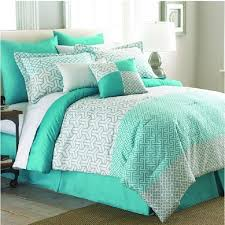 Turquoise King Size Comforter Mint Green 8 Piece Comforter Set White King Queen Bedding Pillows
