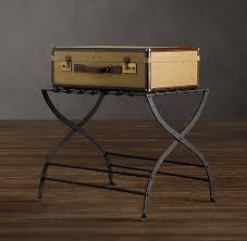 luggage racks for bedroom avignon metal luggage rack restoration hardware guest
