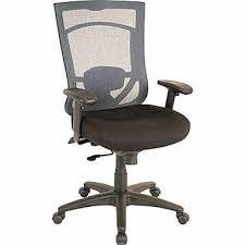 Amazoncom TempurPedic TP7000 High Back Office Chair BlackBlack