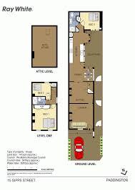 paddington station floor plan ray white paddington 215 glenmore road real estate for sale