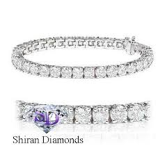 tennis bracelet diamonds images F si 10 50 carat certified natural diamond tennis bracelet 14k jpg