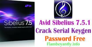 avid sibelius 7 5 1 serial keygen password free