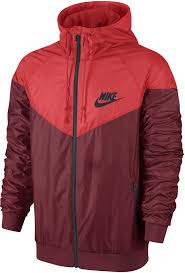 nike windbreaker nike 544119 678 windrunner water repellant overlay mens jacket