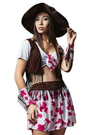 Cowgirl Halloween Costumes Adults Amazon Women Cowgirl Halloween Costume Wild West Rodeo