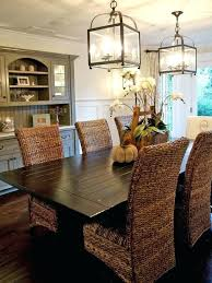 wicker kitchen furniture wicker parsons dining chairs wonderful banana leaf coffee table