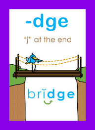lesson words end in dge or ge not j by literasee concepts