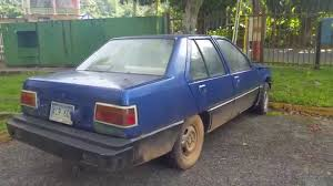 mitsubishi mirage 1988 1986 mitsubishi mirage youtube