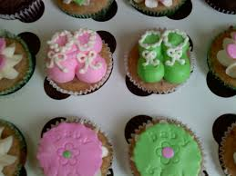 cupcakes for twins baby shower 4528106861 e9ca2b43fb b baby