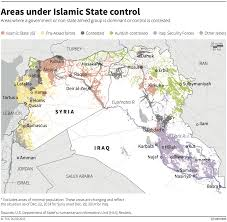 Syria Map Of Control by Syria And Iraq Full Of Russian Iranian And Chinese Weapons