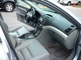 Chantilly Upholstery 2004 Acura Tsx 4dr Sedan In Chantilly Va Nexus Auto Sales