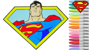 superman coloring book pages dc justice league superhero rainbow