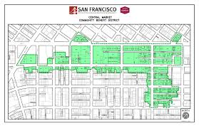 San Francisco Districts Map by Central Market Office Of Economic And Workforce Development