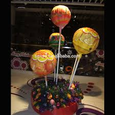 creative design 3m christmas tree with colorful candy decoration